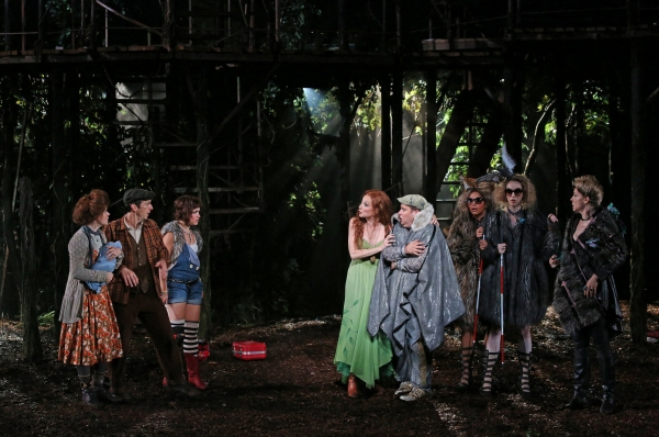 Photo Flash: First Look at INTO THE WOODS in Central Park; Extended Through 9/1!