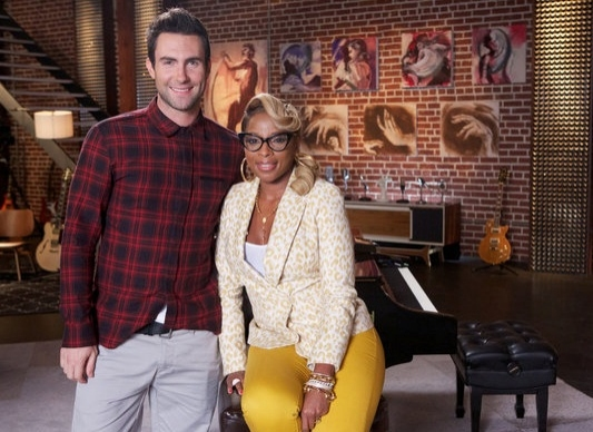 Adam Levine, Mary J. Blige