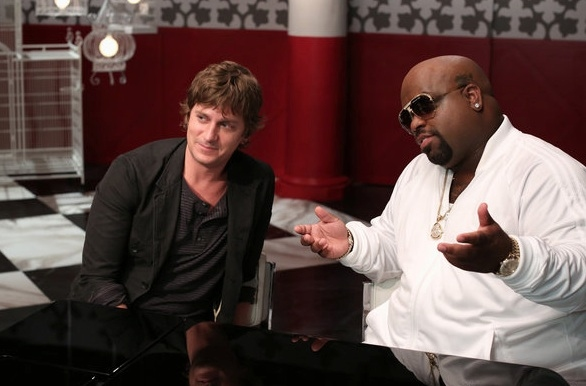 Rob Thomas, CeeLo Green at First Look - Blige, Bublé & More on NBC's THE VOICE