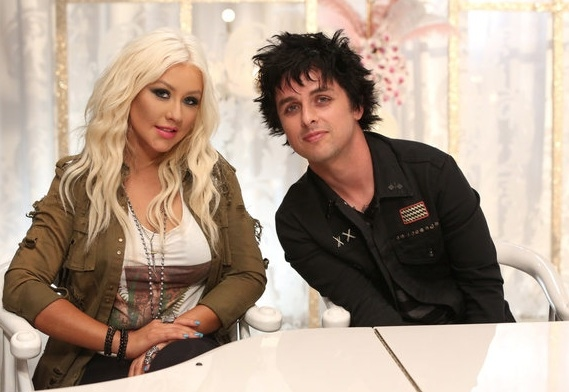 Christina Aguilera, Billy Joe Armstrong
