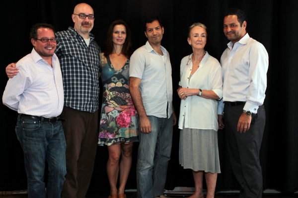 Photo Coverage: Meet the Cast of a NYTW's RED DOG HOWLS