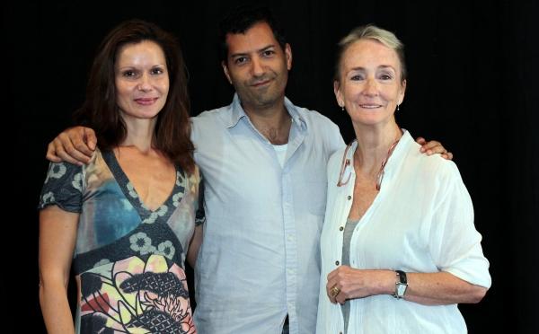 Florencia Lozano, Alfredo Narciso, Kathleen Chalfant Photo