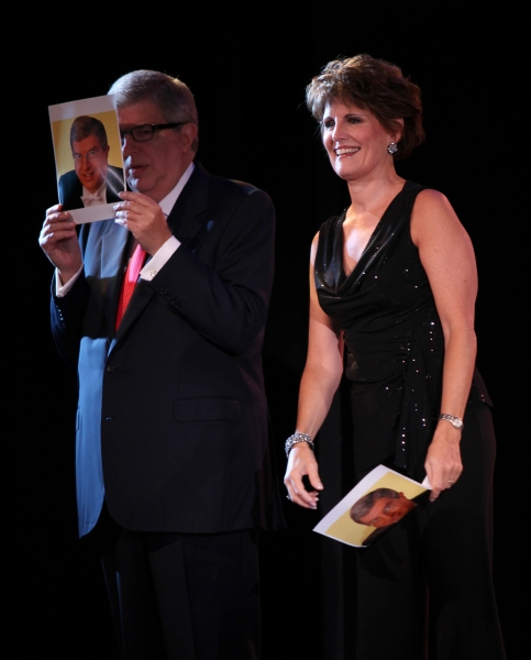 Marvin Hamlisch & Lucie Arnaz performing in the All Star Benefit ÒSix Degrees of Marvin HamlischÓ benefitting The Actors Fund and honoring Broadway Musical Director Fran Liebergall at Symphony Space in New York City.  October 4, 2010