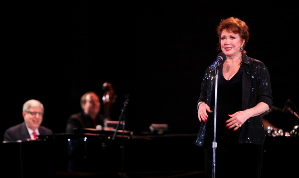 "Marvin Hamlsch & Donna McKechnie performing in the All Star Benefit �'Six Degrees of Marvin Hamlisch�"" benefitting The Actors Fund and honoring Broadway Musical Director Fran Liebergall at Symphony Space in New York City. October 4, 2010 at Remembering Marvin Hamlisch- Part Two"