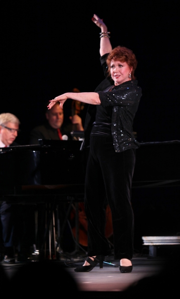 "Donna McKechnie & Marvin Hamlisch performing in the All Star Benefit �'Six Degrees of Marvin Hamlisch�"" benefitting The Actors Fund and honoring Broadway Musical Director Fran Liebergall at Symphony Space in New York City.  October 4, 2010"