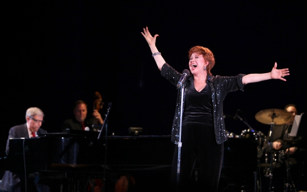 "Marvin Hamlisch & Donna McKechnie performing in the All Star Benefit �'Six Degrees of Marvin Hamlisch�"" benefitting The Actors Fund and honoring Broadway Musical Director Fran Liebergall at Symphony Space in New York City. October 4, 2010"