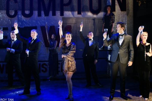 The Ensemble: Lewis Barnshaw, Vivien Carter, Chris Doyle, Julian Hoult, Nigel Roche and Philippa Stefani
