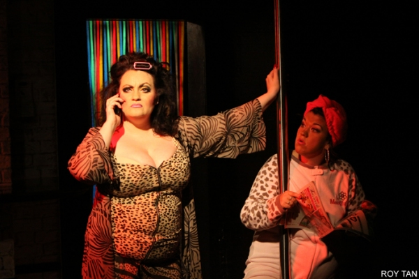 Photo Flash: First Look at SOHO CINDERS at West End's Soho Theatre