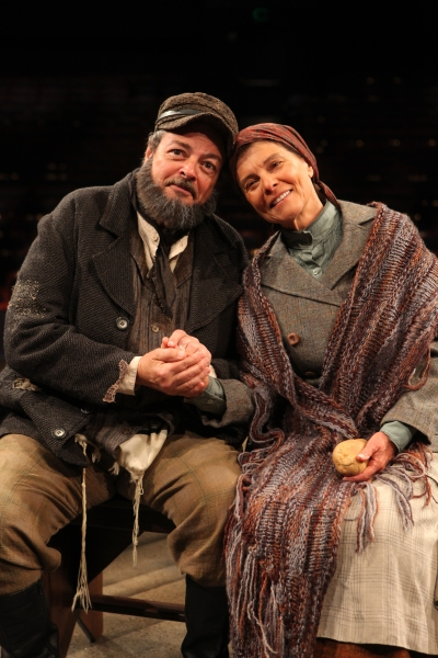 Photo Flash: Bob Amaral as 'Tevye' and Adrienne Barbeau as 'Golde' in Music Circus' FIDDLER ON THE ROOF