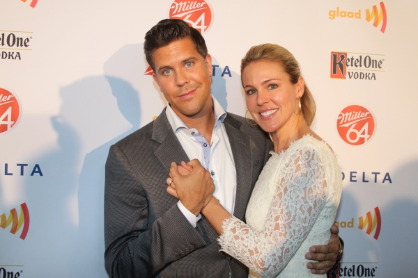 Fredrik Eklund and Sara Clephane