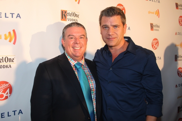 Elvis Duran and Tom Murro