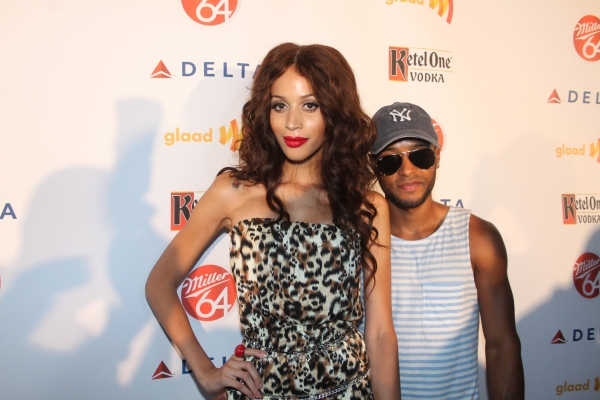 Isis King and Corey Malcolm