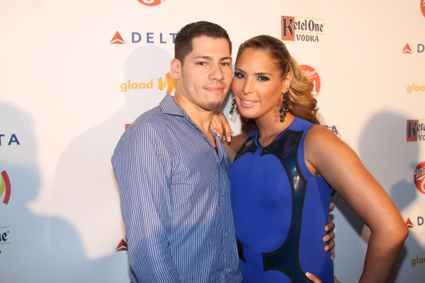 Adrian Torres and Carmen Carrera  Photo