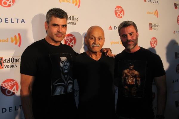 Mike Ruiz, Mike Ruiz' Dad and Martin Berusch  Photo