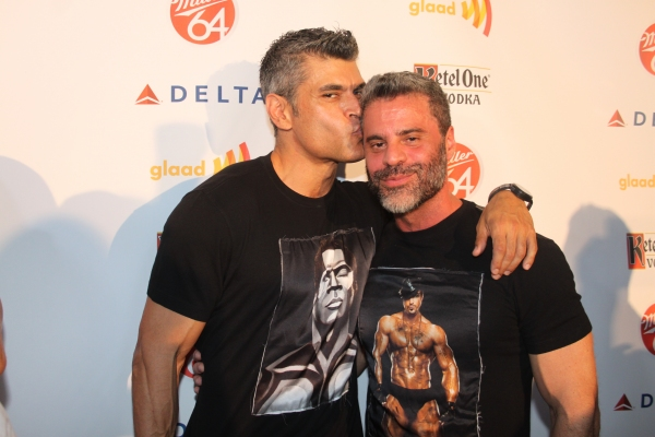 Mike Ruiz and Martin Berusch at Nick Adams, Ali Stroker, and More at GLAAD Manhattan!