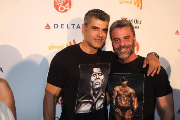 Mike Ruiz and Martin Berusch   Photo
