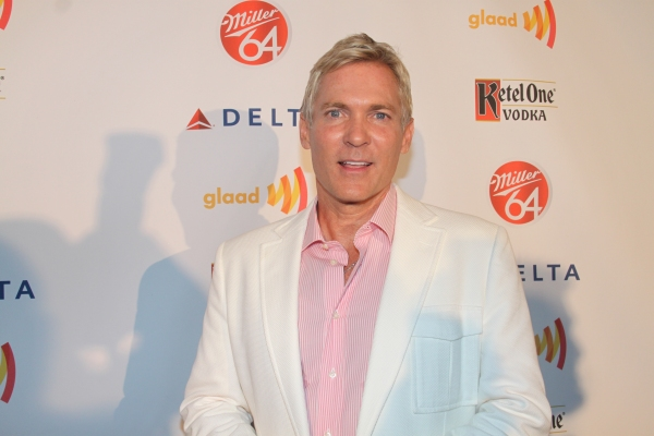 Sam Champion   at Nick Adams, Ali Stroker, and More at GLAAD Manhattan!