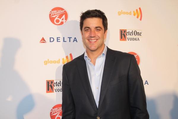 Josh Elliot  at Nick Adams, Ali Stroker, and More at GLAAD Manhattan!
