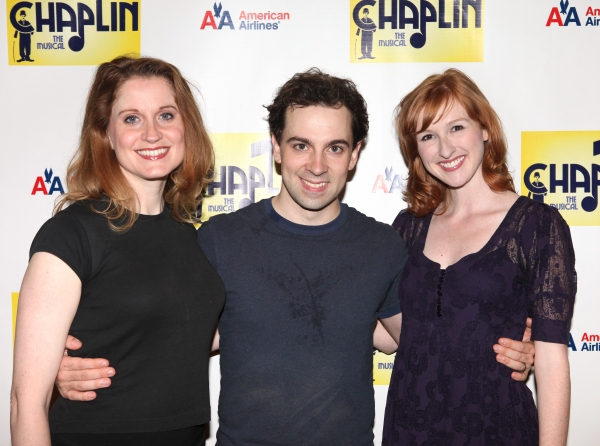 Photo Coverage: CHAPLIN Cast and Creative Team Meets the Press!