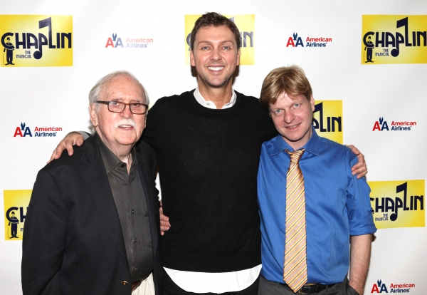 Author Thomas Meehan, Warren Carlyle (Director / Choreographer) and Christopher Curti Photo