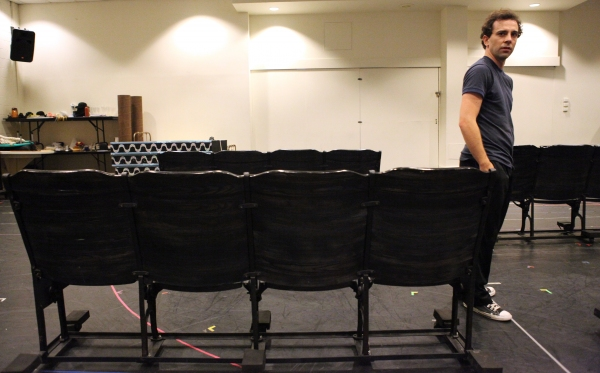 Photo Coverage: In Rehearsal with the Cast of CHAPLIN!