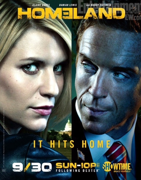 Photo Flash: First Look - Poster Art for HOMELAND Season 2