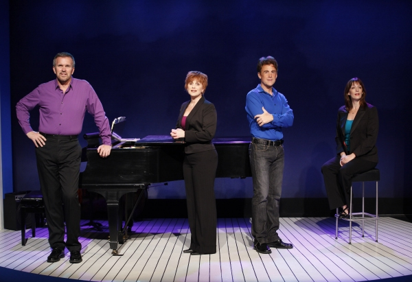 George Dvorsky, Jacquelyn Piro Donovan, Sal Viviano and Julia Murney at First Look at Julia Murney, Jacquelyn Piro Donovan in CLOSER THAN EVER!