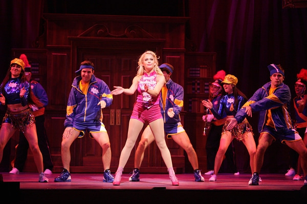 Anne Horak and Company at First Look at Anne Horak and More in MTWichita's LEGALLY BLONDE