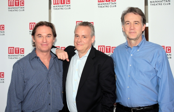 Richard Thomas, Doug Hughes, Boyd Gaines at Meet the Cast of MTC's AN ENEMY OF THE PEOPLE