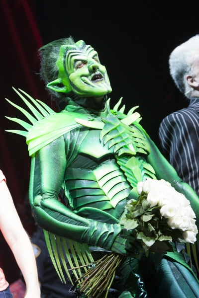 Photo Coverage: Robert Cuccioli Takes First Bow as SPIDER-MAN's 'Green Goblin'
