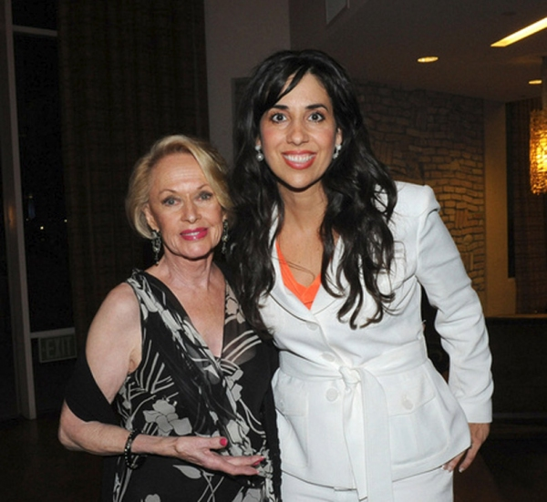 Legendary Lady Tippi Hedren and Michelle Patterson at Marcia Cross, Barbara Van Orden and More Launch Plans for 2012 CWC Conference