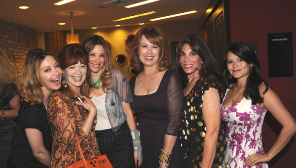 Sharon Lawrence, Frances Fisher, Kim Rubin, Lee Purcell, Kate Linder and Romi Dames at Marcia Cross, Barbara Van Orden and More Launch Plans for 2012 CWC Conference