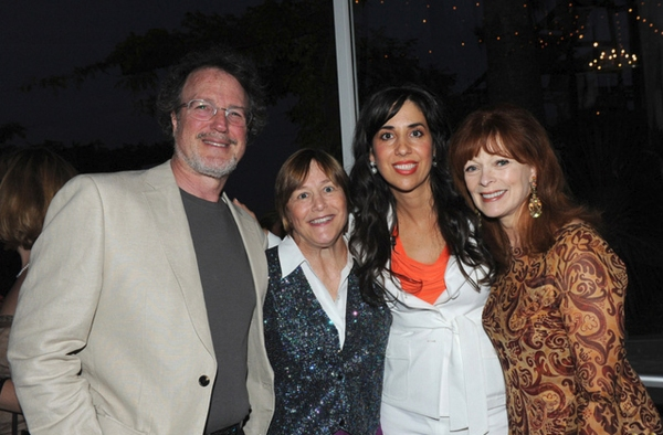David Misch, Geri Jewell, Michelle Patterson and Frances Fisher