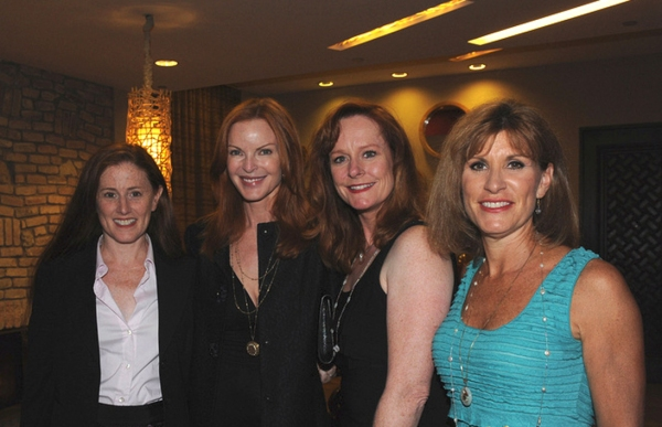 Kami Cotler, Marcia Cross, Mary McDonough and Judy Norton