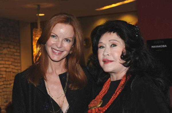 Marcia Cross and Barbara Van Orden