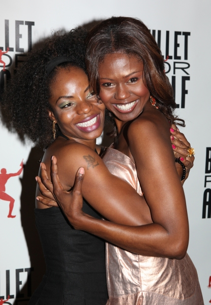 Marsha Stephanie Blake & Shamika Cotton at BULLET FOR ADOLF - After Party