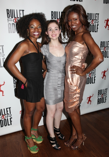Marsha Stephanie Blake, Shannon Garland & Shamika Cotton at BULLET FOR ADOLF - After Party