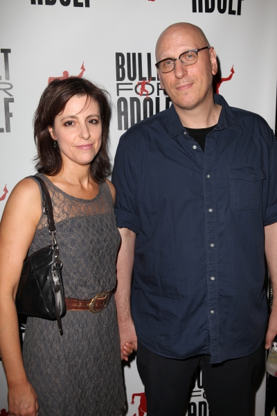 Oren Moverman & wife