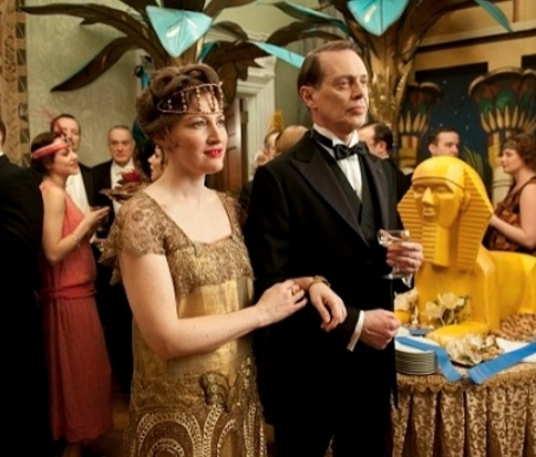 Kelly MacDonald, Steve Buscemi at First Look - Bobby Cannavale in HBO's BOARDWALK EMPIRE