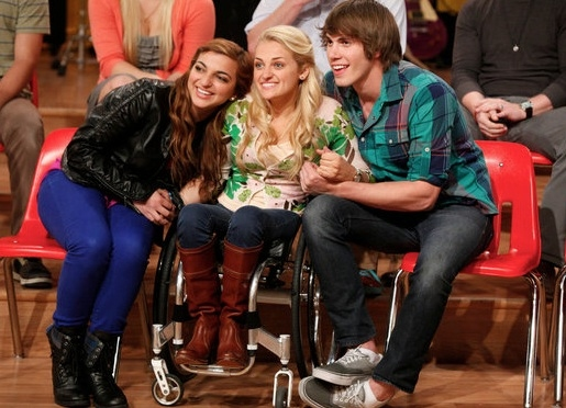 Aylin Bayramoglu, Ali Stoker, Blake Jenner at First Look - THE GLEE PROJECT Finale Featuring Chris Colfer