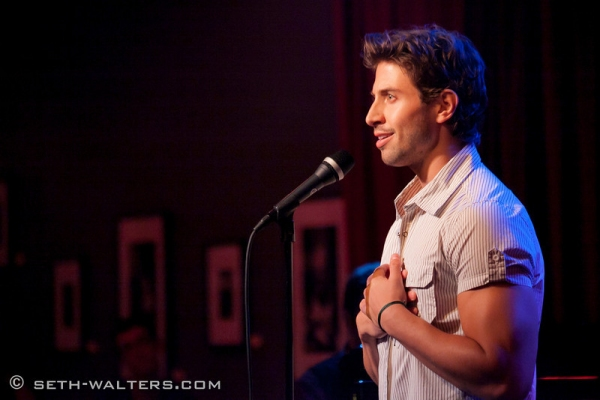 Nick Adams at Nick Adams, Nikki M. James, and More at IN FULL BLOOM!