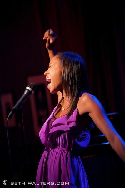Nikki M. James at Nick Adams, Nikki M. James, and More at IN FULL BLOOM!