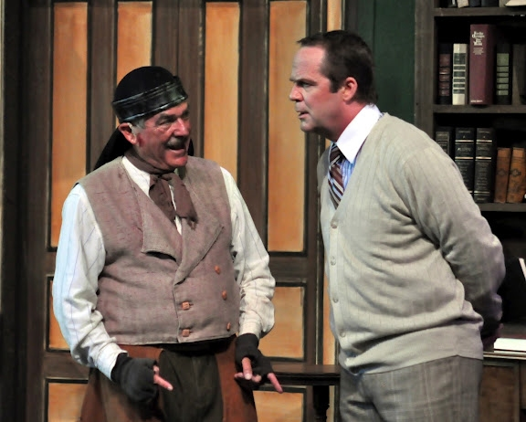 "Harold ""Jerry"" Walker as Alfred P. Doolittle and Rick Hilsabeck"