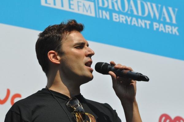 Ryan Silverman at NEWSIES, REBECCA and More Perform at Broadway in Bryant Park!