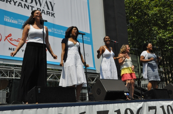 Photo Coverage: NEWSIES, REBECCA and More Perform at Broadway in Bryant Park!