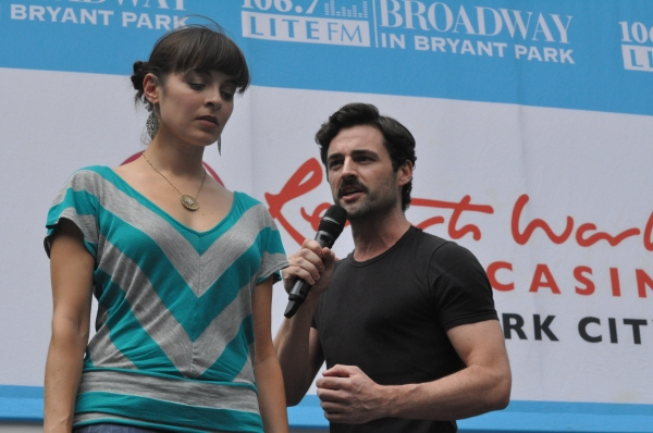 Christina DeCicco at NEWSIES, REBECCA and More Perform at Broadway in Bryant Park!