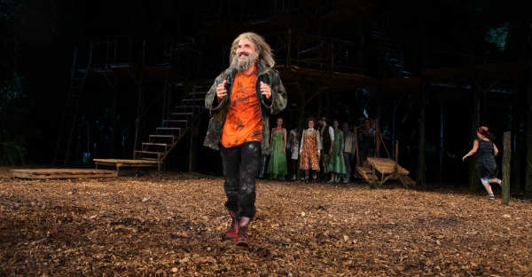 Photo Coverage: INTO THE WOODS Opening Night Curtain Call!