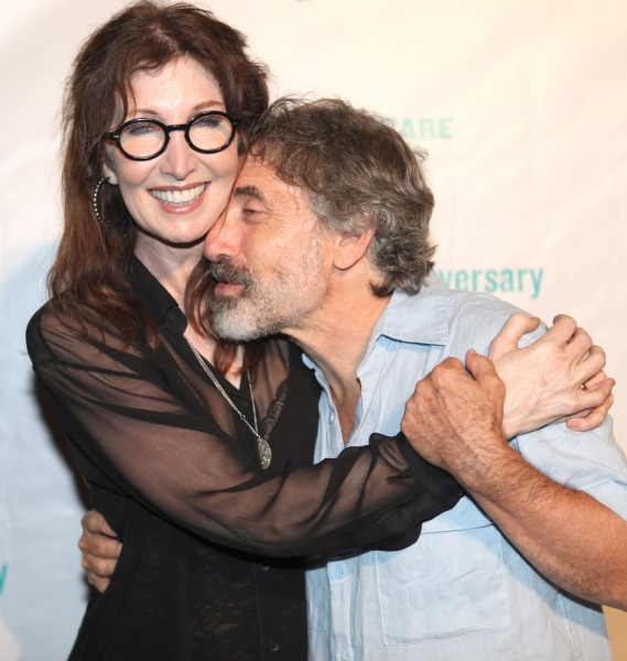 Joanna Gleason & Chip Zien at INTO THE WOODS Opening Night Party!