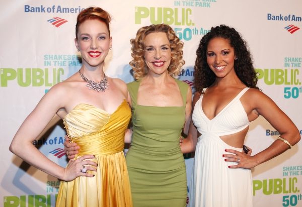 Bethany Moore, Ellen Harvey & Jennifer Rias  at INTO THE WOODS Opening Night Party!