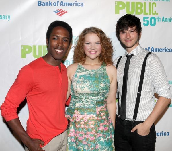 Eric R. Williams, Victoria Cook & Johnny Newcomb Photo
